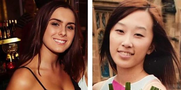 Georgina Bartter and Sylvia Choi collapsed after taking ecstasy. Photo / Supplied