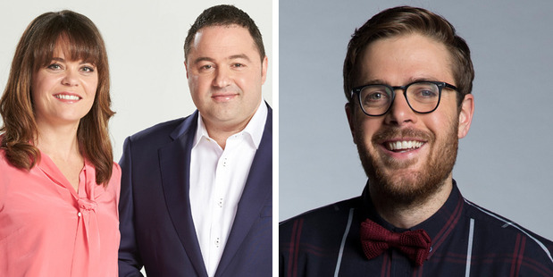 Loading Heather du Plessis-Allen and Duncan Garner have hosted TV3's Story since August last year, Guy Williams could be replacing them.