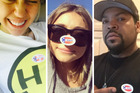 Miley Cryus, Sarah Hyland and Ice Cube have voted. Photo / Instagram, Twitter