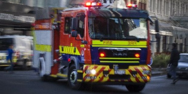 Emergency services are helping at the scene of a Napier crash. Photo/File