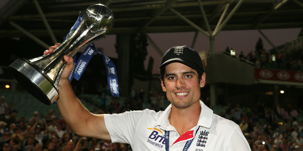 Alastair Cook could be set to relinquish the English captaincy as his side prepare to take on India in a five-match test series. Photo / Photosport