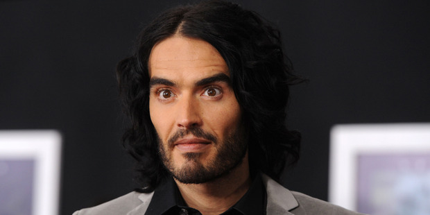 Russell Brand is now a father. Photo / Getty