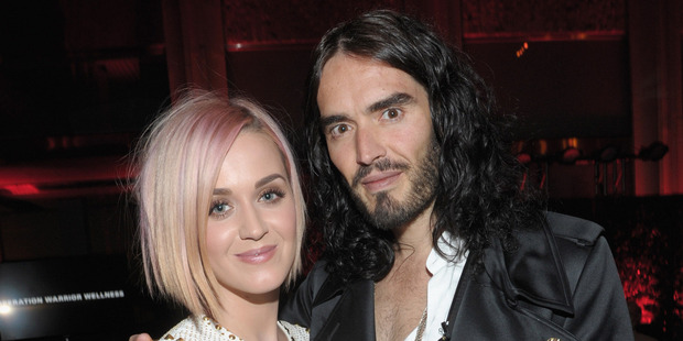 Singer Katy Perry and actor Russell Brand were once married. Photo / Getty