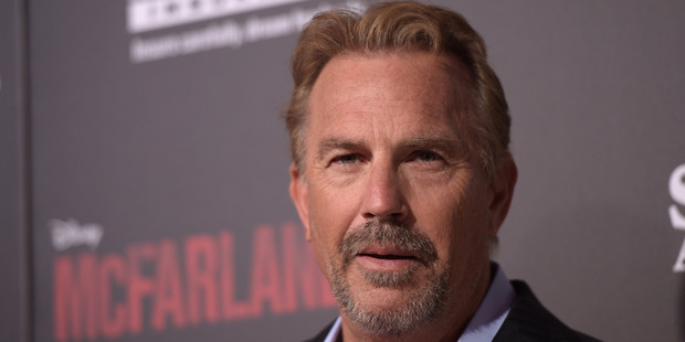 Actor Kevin Costner attends a premiere February 9, 2015 in Hollywood, California. Photo / Getty