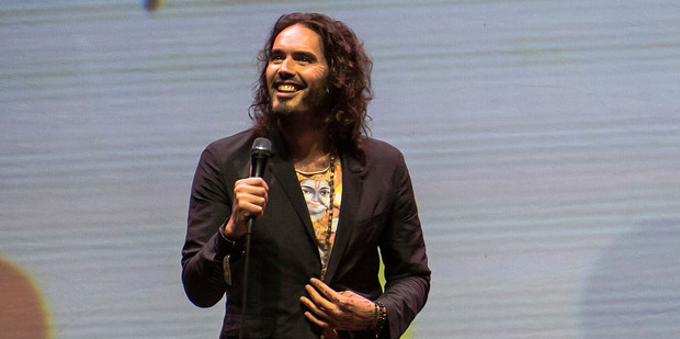 Russell Brand performs during his Trew World Order tour. Photo / Getty