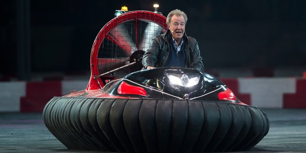 Jeremy Clarkson during the Verva Street Racing on October 24, 2015 in Warsaw, Poland. Photo / Getty