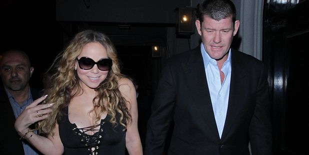 Mariah Carey and James Packer. File photo / Getty Images
