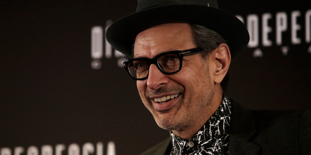 "Jeff Goldblum is back playing his most popular character - ""himself."" Photo / Getty"