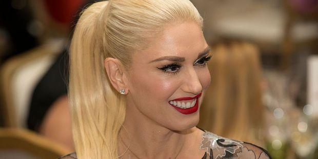 Singer Gwen Stefani often wears a bold red lip. Photo / Getty Images
