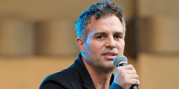 Loading Actor Mark Ruffalo shared a clip of him surrounded by hoards of protestors outside Trump Tower in New York on his Instagram account. Photo / Getty Images