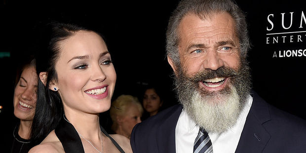 Rosalind Ross and Mel Gibson. Photo / Getty Images