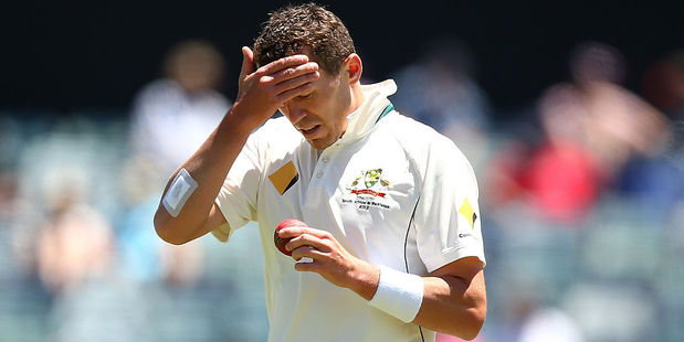 Australian bowler Peter Siddle. Photo / Getty
