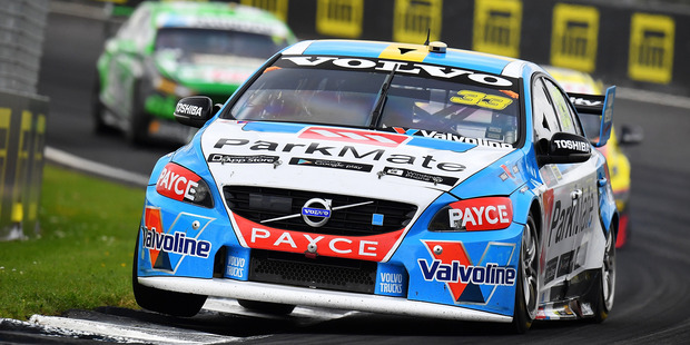 Scott McLaughlin during the Supercars Auckland International SuperSprint. Photo / Getty Images