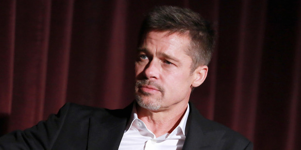 Loading Brad Pitt attends an Allied event in California, where he thanked fans for their support. Photo/Getty