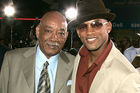 Will Smith (right), father Willard Smith Sr. Photo / Getty Images