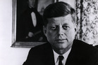 John F Kennedy. Photo / Getty Images