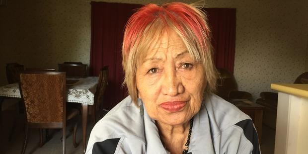 Veteran Maori warden Monica Watson says life in Flaxmere has got harder since the 1970s. Photo / Simon Collins