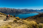 The Pioneer is a gut-busting mountain bike race from Christchurch to Queenstown but the views are amazing if riders have the energy to lift their heads.