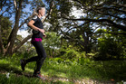 Keen runner Debbie Hardy went to the UK for a special brace to help her keep training after an infection left her with arthritis. Photo / Jason Oxenham