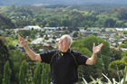 Kawerau mayor Malcolm Campbell reckons his town is great. PHOTO/BEN FRASER