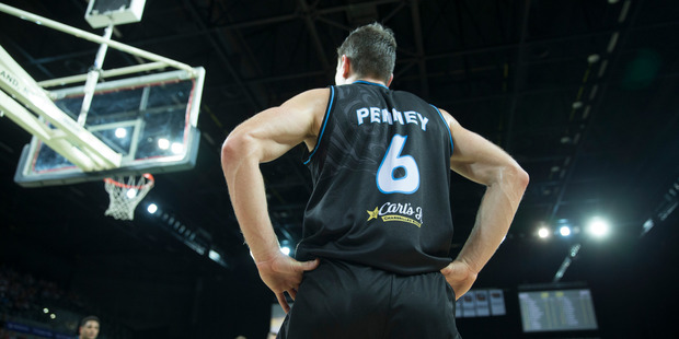 The ageless Kirk Penney enjoyed another big game against Brisbane. Photo / Nick Reed