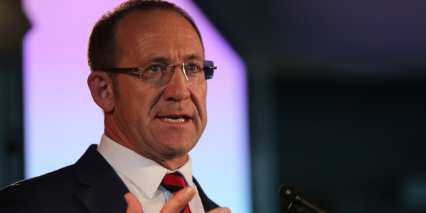 """Andrew Little said he was """"no show pony"""" when giving his speech at the NZLP Conference. Photo / Supplied"""