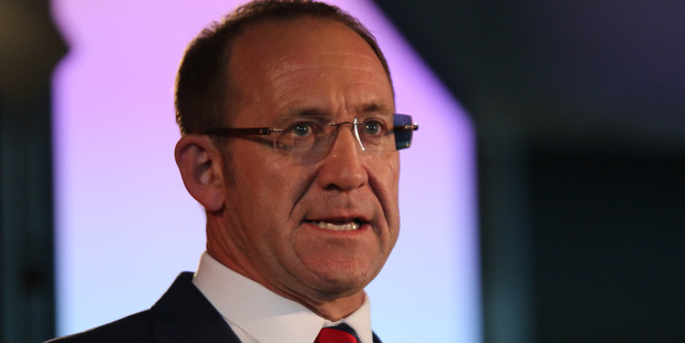Labour leader Andrew Little speaks at the Labour Party conference. Photo / Supplied