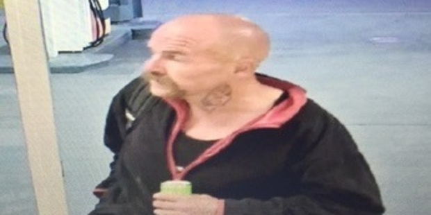 Police are confident a large handlebar moustache will easily identify a man wanted in connection with a robbery in Nelson. Photo / NZ Police