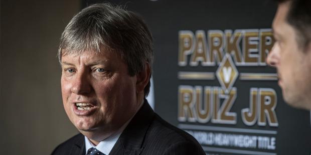 Martin Snedden, CEO of Duco Events. Photo / Greg Bowker