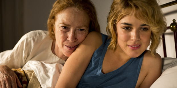 A scene from the movie, Julieta.