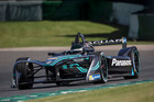 Kiwi Formula E driver Mitch Evans is rapidly learning the differences between his traditional racecars and the electric-powered machine he is now driving. Picture / Andrew Ferraro