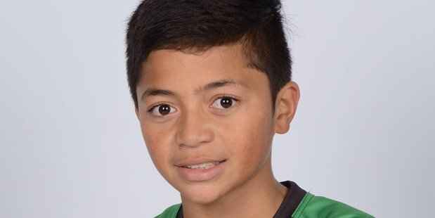 East Coast Bays rugby league under-12s player Tyryce McGuire was critically injured in a scooter crash. Photo / Facebook