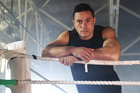 New Zealand Heavyweight boxer Joseph Parker during a promotional SKY TV photoshoot at the ABA in Auckland. Photo: Andrew Cornaga / www.photosport.nz