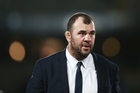 Wallabies head coach Michael Cheika. Photo / Photosport
