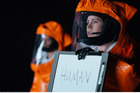 Amy Adams stars as the lead actress in the sci-fi movie, Arrival.