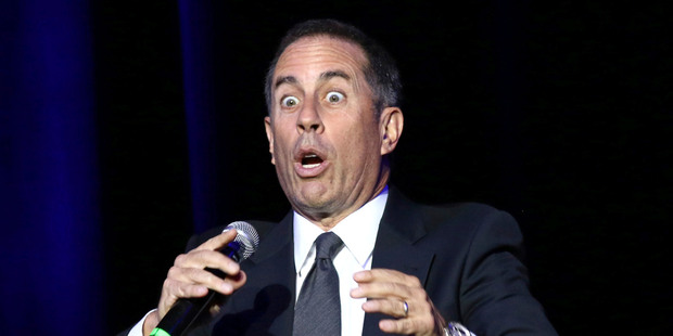 Comedian Jerry Seinfeld. Photo / AP