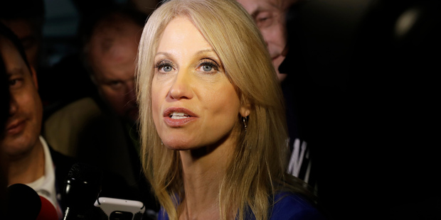 Kellyanne Conway, campaign manager for Donald Trump. Photo / AP