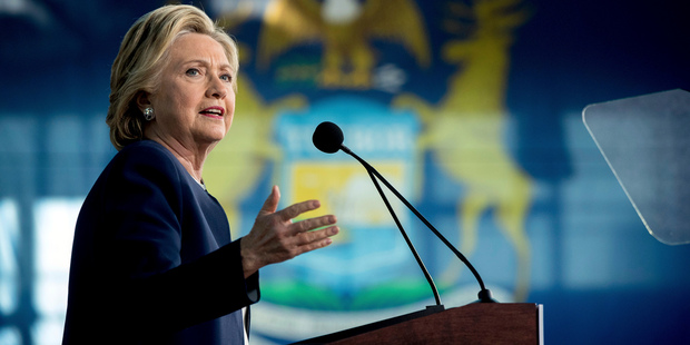 The email controversy has not helped Hillary Clinton's untrustworthy reputation. Photo / AP