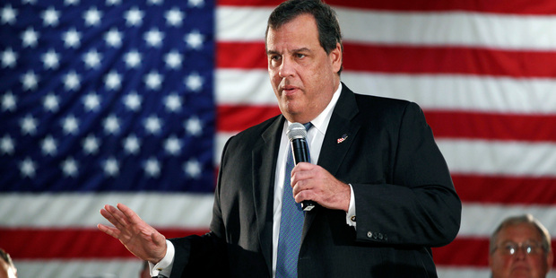 Chris Christie - a contender for Attorney General. Photo / AP