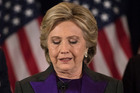 Democratic presidential candidate Hillary Clinton conceded her defeat to Republican Donald Trump after the hard-fought presidential election. Photo / AP