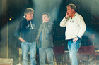 The Grand Tour presenters, from left, James May, Richard Hammond and Jeremy Clarkson. Photo / Supplied