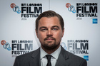 Leonardo DiCaprio poses for photographers during a photo call to promote the film 'Before the Flood'. Photo / AP