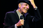 Leonard Cohen performs during the first day of the Coachella Valley Music in 2007. Photo / AP
