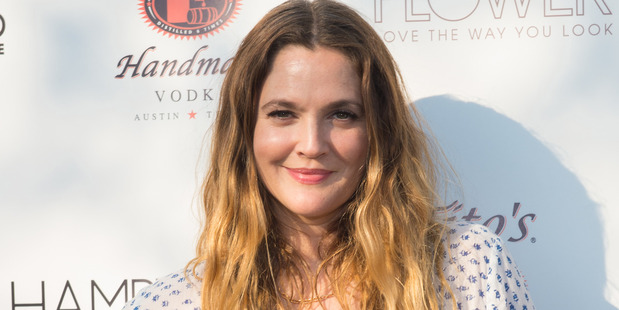 Actress Drew Barrymore reveals she recently lost lose to ten kilograms while filming the Netflix show Santa Clarita Diet. Photo / AP