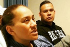 Vicki Letele with her brother Dave. Photo / Supplied