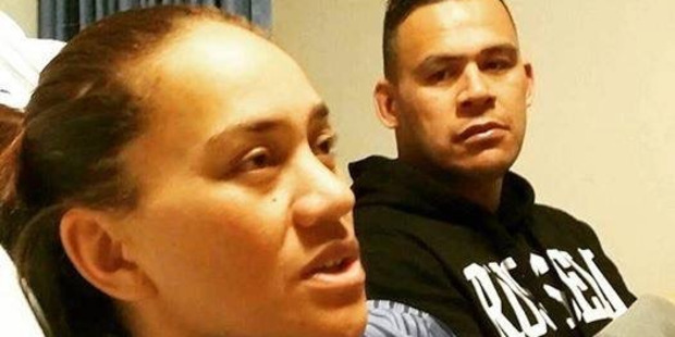 Loading Vicki Letele with her brother Dave. Photo / Supplied
