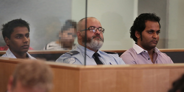 Shivneel Kumar, left, and Brynne Permal, right, in Auckland High Court in 2015. PHOTO / FILE
