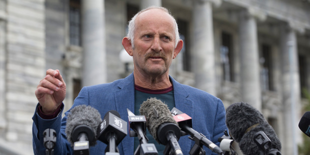 Gareth Morgan started his own party and made sure it's his. Photo / Mark Mitchell
