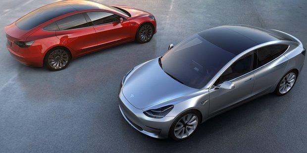 Tesla's Model 3. Photo / File