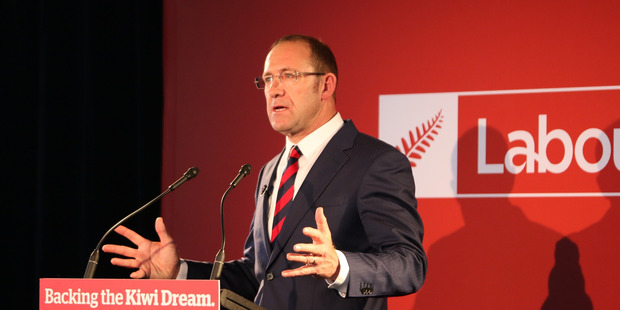 Andrew Little at NZ Labour Party Conference. Photo / Supplied